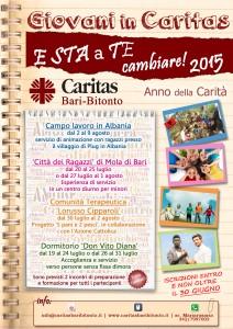 Giovani in Caritas 2015