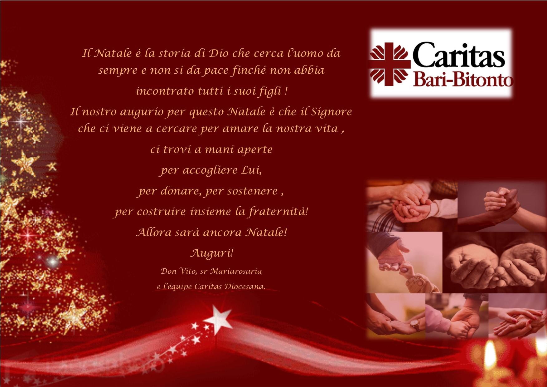 Auguri Di Natale Per I Figli.Auguri Di Natale Caritas Diocesana Bari Bitonto