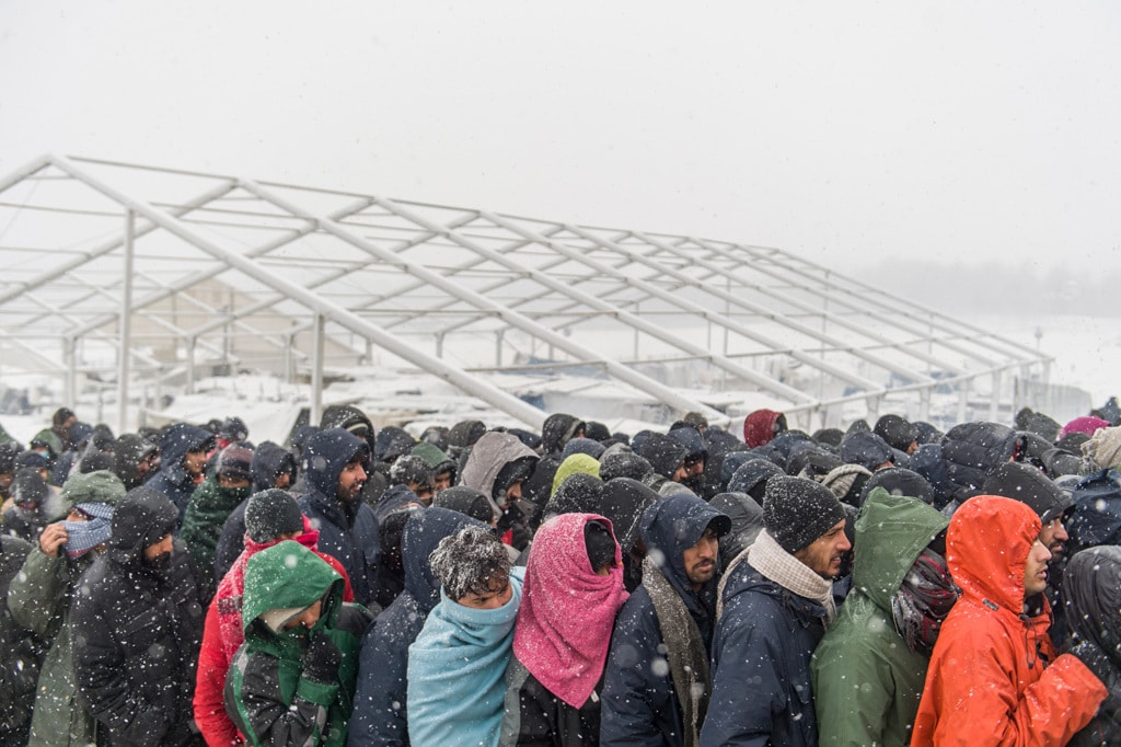 I dimenticati di Lipa, intrappolati nel ghiaccio della Bosnia